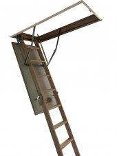 70x120 Optistep Ahşap Çatı Merdiveni-3