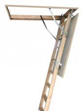 70x120 Optistep Ahşap Çatı Merdiveni-4