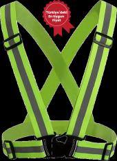 Yeşil Düz Yelek 3
