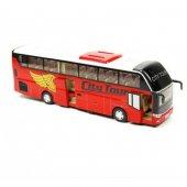 Oyuncak Tur Otobüsü Çek Bırak Metal Araba