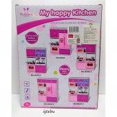 2li Mutfak Seti Evcilik Kız Oyuncak Pilli Oyun Set-2