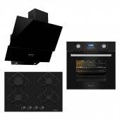 Ferre Black Dream Ankastre Set (7002 Ka007 D003...