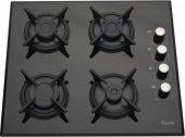 Ferre Black Uehara 3Lü Ankastre Set ( BEF-LM-T Turbo Fırın + 1140 Döküm Izgara Cam Ocak + FMI 600 Siyah Camlı Davlumbaz )-4