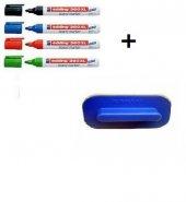 Edding Tahta Kalemi 360 Xl 4 Adet Karışık Renk Tahta Kalemi + Tahta Silgisi Ücretsiz Kargo