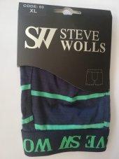 100 Adet Erkek İc Camasir Steve Wolls