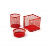 Mas 505 Perfore Masaüstü Set Kırmızı