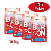 Boron Matik Doğal Mineralli Temizlik Ürünü 4 Kg X 4'lü Paket