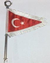Motor Ve Bisiklet İçin Türk Bayragı