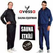 Avessa Sauna ve Terleme Eşofmanı-Yırtılmaz Kumaş