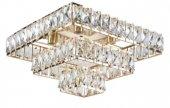 Mylight Gold Kristal Kare Avize 40 Cm En