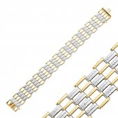 Pirnus Diamond Altın Bileklik 14 Ayar 24,68 Gram