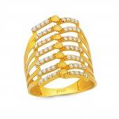 Pirnus Diamond Altın Yüzük 22 Ayar 4,57 Gram