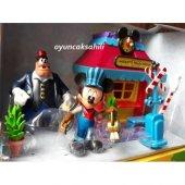 Disney Pete Ve Mickie Mause Tren İstasyonu Orjinal...