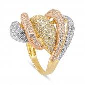 Pirnus Diamond Altın Yüzük 14 Ayar 8,57 Gram
