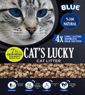 Cats Lucky Organik Kedi Kumu Blue Seri 7 Lt