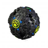 Bobo Öten Siyah Top Köpek Oyuncağı 9 Cm (M)