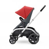 Quinny Hubb Bebek Arabası / Red on Graphite-4