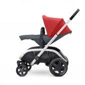 Quinny Hubb Bebek Arabası / Red on Graphite-5