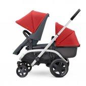 Quinny Hubb Bebek Arabası / Red on Graphite-6