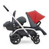 Quinny Hubb Bebek Arabası / Red on Graphite-7