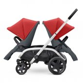 Quinny Hubb Bebek Arabası / Red on Graphite-9