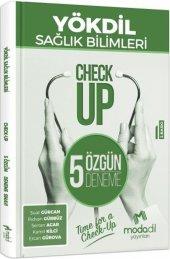 Modadil Yayınları Yökdil Sağlık Bilimleri Check Up 5 Özgün Deneme
