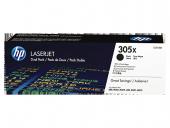 HP 305X 2-pack High Yield Black Original Toner Cartridge CE410XD