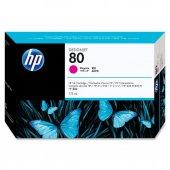 HP 80 175 ml Magenta Ink Cartridge C4874A ESKİ TARİH