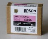 Epson Orjinal Ultrachrome K3 Light Magenta (80ml). C13t580600