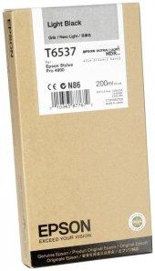 EPSON Cartridge With Pigment İnk Light-Black (200 ML) C13T653700