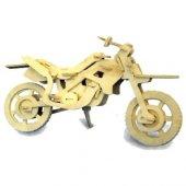 3d Ahşap Maket Motorsiklet Oyuncak