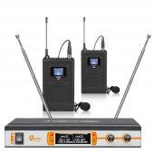 2yaka Vhf Digital Ekranlı Telsiz Mikrofon Alfon Atm V6100
