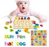 Ahşap 3d Yabancı Dil Öğrenme Eğitici Yapboz Puzzle Bultak Oyuncak