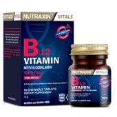 Nutraxin Vitamin B12 60 Dilaltı Tablet