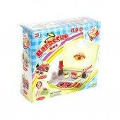 Barbekü Çantalı Şef Mutfak Mangal Seti Sesli ve Işıklı Oyuncak -2