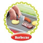 Barbekü Çantalı Şef Mutfak Mangal Seti Sesli ve Işıklı Oyuncak -4