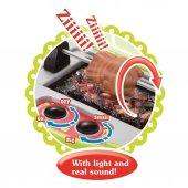 Barbekü Çantalı Şef Mutfak Mangal Seti Sesli ve Işıklı Oyuncak -5
