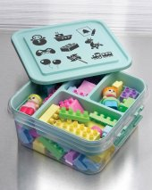 Oyuncak Kutusu Çocuk Bebek Lego Gondol Mybox...