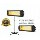 Kumtel Ecoray Infrared Isıtıcı Elektrikli Ayaklı S...