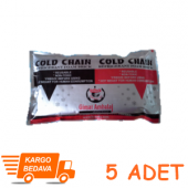 Soğuk Termo Jel Kompres Buz (17,5x12) Cm 5 Adet