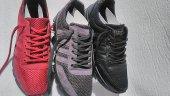 1019 Poli Tabanlı Fileli Esnek ve Hafif 40-45 Erkek Spor Ayakkabı