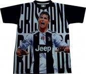 Ronaldo T Shirt Forma İllustrator Dijital Baskı