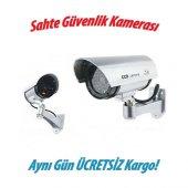Sahte Güvenlik Kamerası Led Işıklı Kutulu...