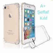 Iphone 6 6s Köşe Darbelerine Karşı Korumalı Şeffaf Kılıf