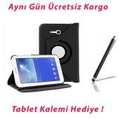 Samsung Galaxy Sm T110 Siyah Tablet Kılıfı (Kalem Hediyeli)