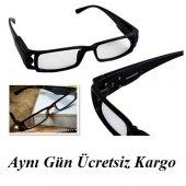 Led Işıklı Kitap Gözlüğü Camsız Işıklı Gözlük İle ...