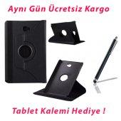 Galaxy Tab A P580 Standlı Siyah Tablet Kılıfı...