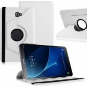 Galaxy Tab A P580 Standlı BEYAZ Tablet Kılıfı (Kalem Hediye)-2