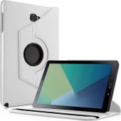 Galaxy Tab A P580 Standlı BEYAZ Tablet Kılıfı (Kalem Hediye)-3