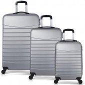 Bavyera ROYAL Abs 3 lü Valiz, Bavul Seti (Kabin+Orta+Büyük Boy) 5-3
